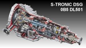 Automatinių dėžių remontas s-tronic